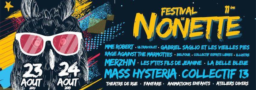 NOMADES TOUR – FESTIVAL DE NONETTE